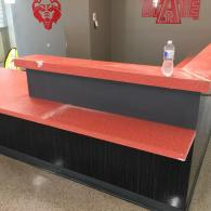 Before - Epoxy Resin on formica countertops